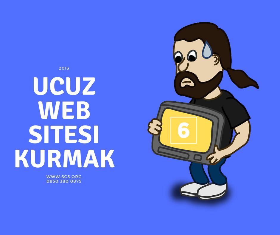 Ucuz web sitesi kurmak