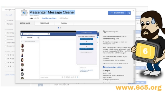 Messenger Message Cleaner